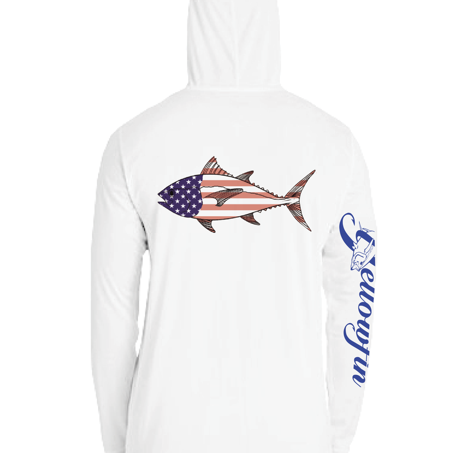 Tuna Flag Performance Adult Hoodie