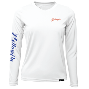 Women's Tuna Flag Performance Long Sleeve Shirt