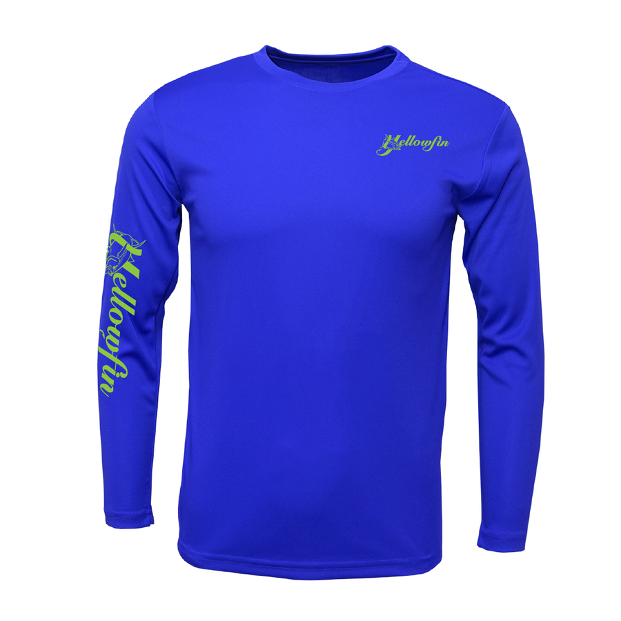 Yellowfin Youth Performance Long Sleeve Shirt