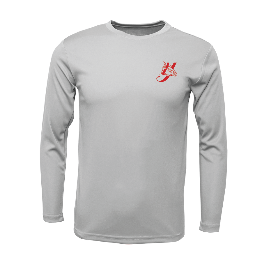 Yellowfin Hooks Youth Performance Long Sleeve Shirt