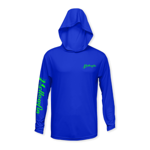 Yellowfin Logo Performance Youth Hoodie