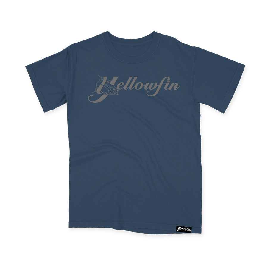 Comfort Colors Youth Tee - Yellowfin Logo