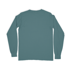 Comfort Colors Long Sleeve Tee - Yellowfin Logo