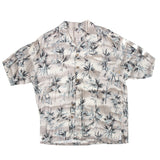 Vintage luau Hawiian Shirt all over print XL size