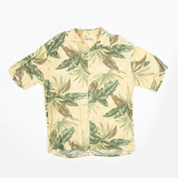 Vintage Hollis River Yellow Aloha Shirt L Size