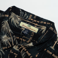 Vintage Tommy Bahama beautiful Palm trees Shirt XXL size Coconut buttons