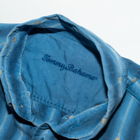 Vintage Tommy Bahama Full Sleeve Blue Button Down Shirt