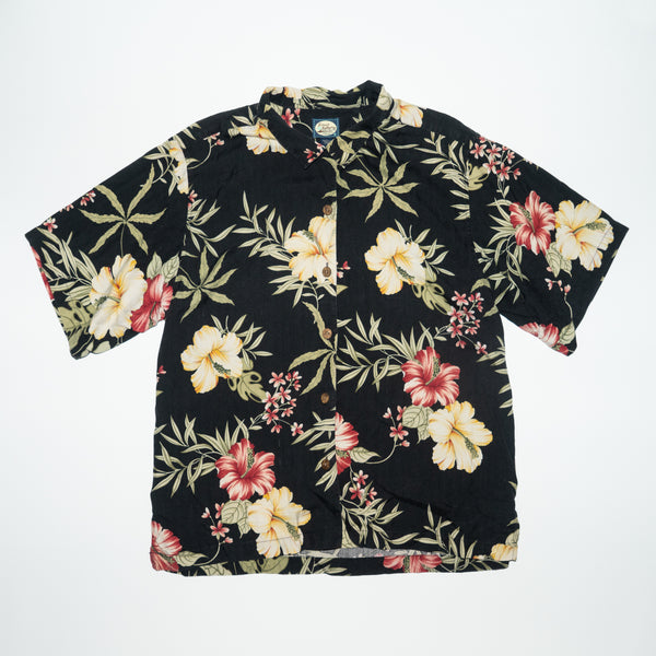 Vintage Tommy Bahama Nice Hibiscus Floral Print Shirt