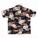 RJC Flower print all over Made in Hawaii Shirt L size
