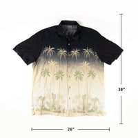 Croft & Barrow Aloha Shirt Palm Trees XL size