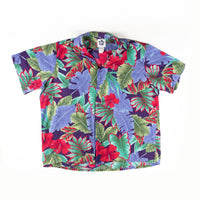 Vintage Hilo Hattie Stand Out print Shirt XXXL size Made in Hawaii