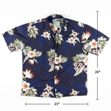 Vintage Made in hawaii Floral Aloha Shirt L Sz