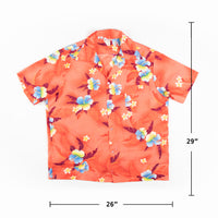 Vintage 1970s Made in Hawaii print Shirt M Sz
