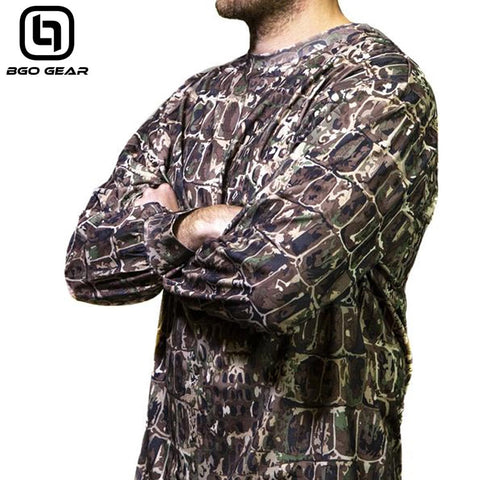 BGO Hunter's Camo Performance Long Sleeve