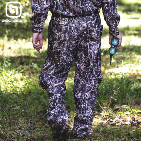 BGO Hunter's Camo Performance Cargo Pants