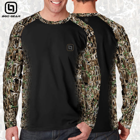 BGO Performance Black Camo Long Sleeve