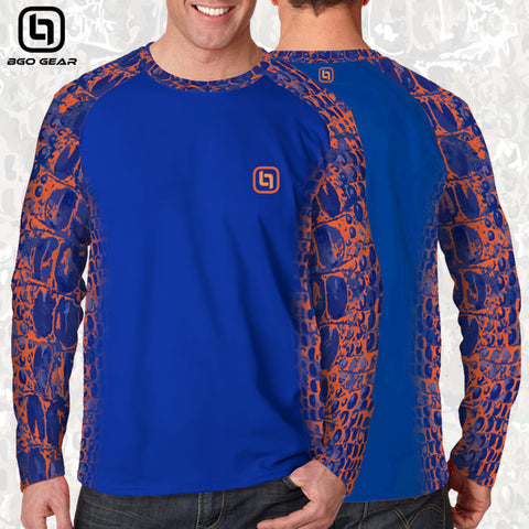 BGO Gear Orange & Blue Camo Unisex