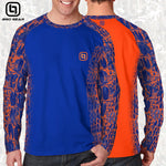 Orange & Blue Camo Performance Shirt