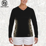 BGO Performance Black Camo Women's Long Sleeve