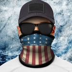 Cold Weather Face Shield Flag