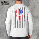 Punisher Skull - Red, White, & Blue