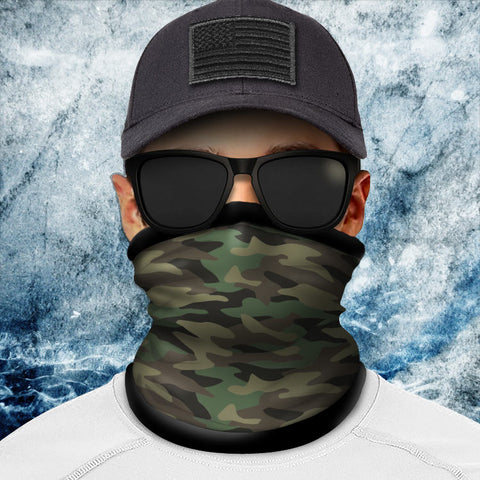 Classic Camo Polar Fleece Headgear