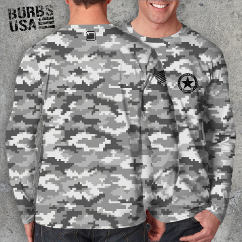 Digital Camo Grey