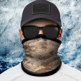 Digital Camo Desert Polar Fleece Headgear