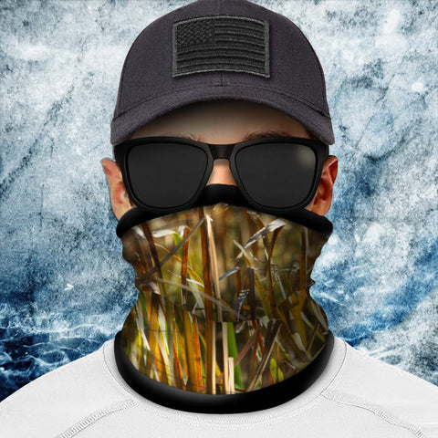 Grasslands Camo Polar Fleece Headgear