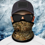 Forest Floor Camo Polar Fleece Headgear