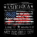 America Love It tee by Burbs USA Patriotic t-shirt