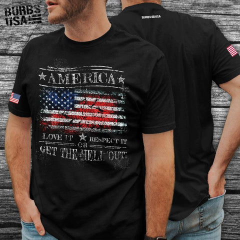 America - Love It t-shirt unisex
