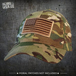 Military Replica Performance Hat - Camo