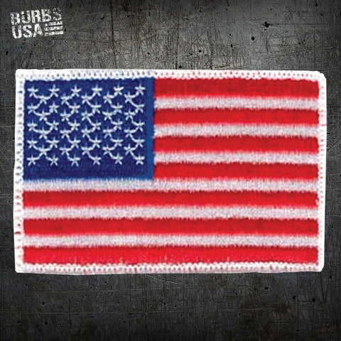 US Flag/White Border Morale Patch