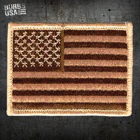 Bronze US Flag Morale Patch