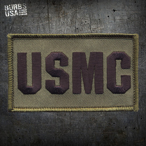 USMC OD Green Morale Patch