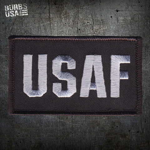 USAF Silver Morale Patch