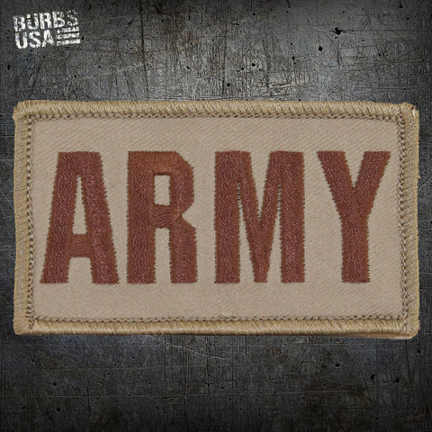 ARMY Desert Tan Morale Patch