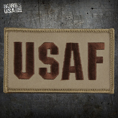 USAF Tan Morale Patch