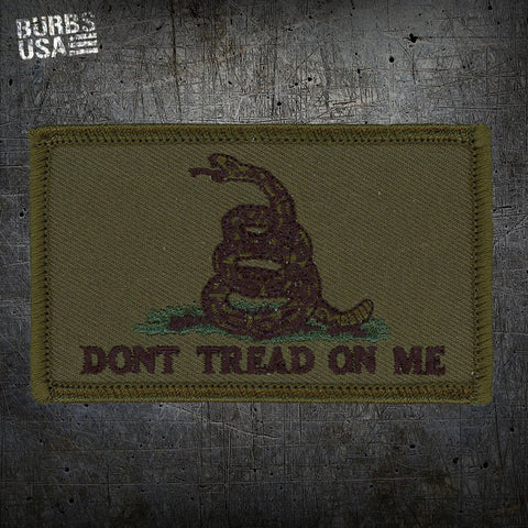 Gadsden OD Green Flag Morale Patch