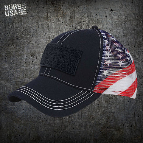 Deluxe Trucker Style USA Hat