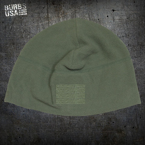 Fleece Watch Hats with 2.5 X 1.5 Loop Patch
