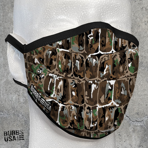 Bullgator Original Camo Face Mask