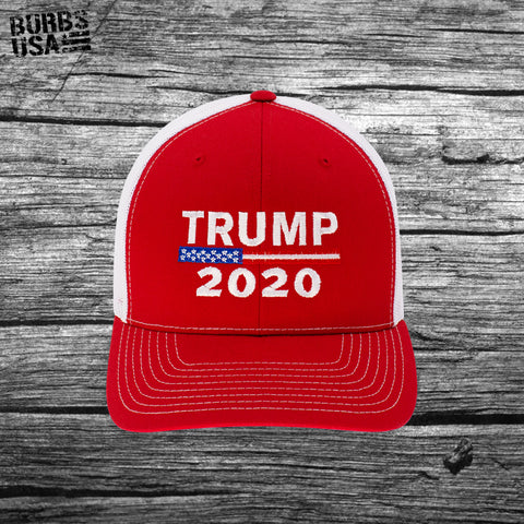 Trump 2020 Trucker Hat Classic Red