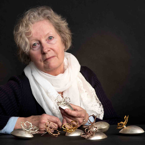 Jeweller and silversmith Maria Gower