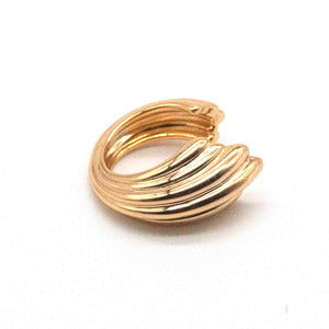 Bold Betta Gold-Plated Vermeil Earclip
