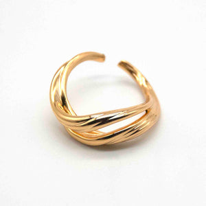 Tyche Gold-Plated Sterling Silver Vermeil Ring