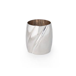 Silver Whiskey Tumbler by Ellys May Woods