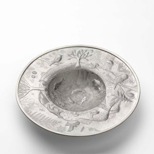 Stunning Sterling Silver 'Circle of Life' Dish Plate