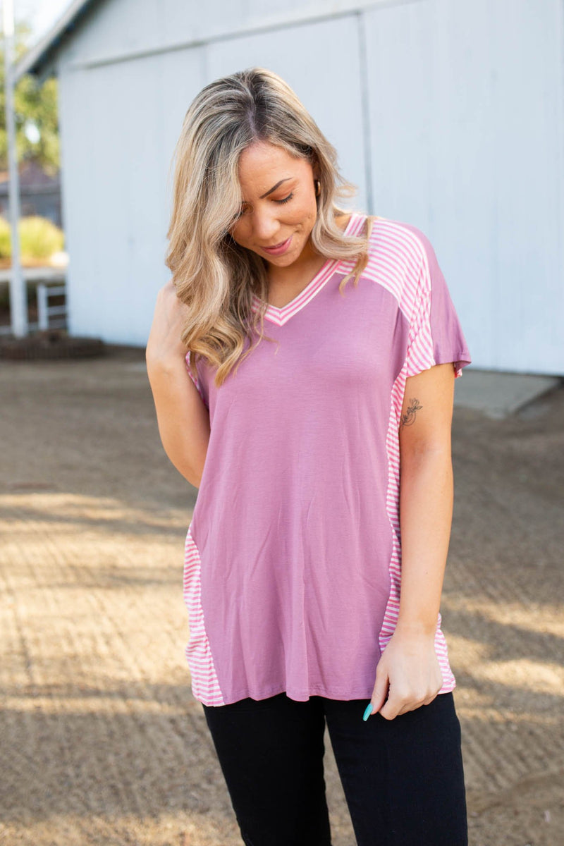 Rosey Cheeks Short Sleeve Top